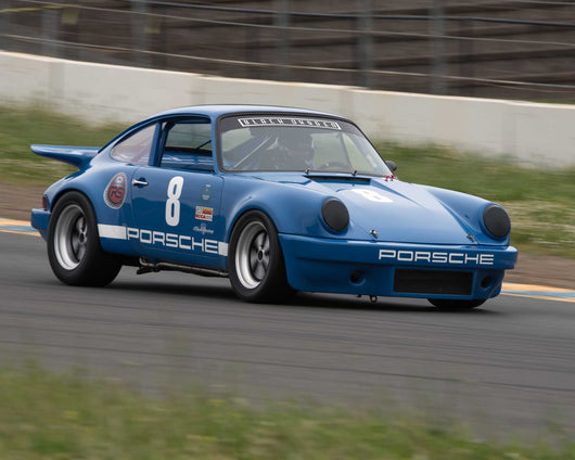 Michael Lyle with 1975 Porsche 911 RS in Group 8 - at the 2016 CSRG David Love Memorial - Sears Point Raceway