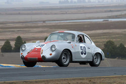 Lindsay Ross - 1963 Porsche Super 90 in Group 2 -  at the 2016 Charity Challenge - Sonoma Raceway