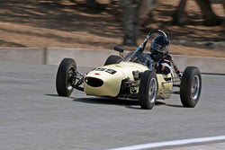Robert Merrill - 1959 BMC Formula Junior in Group 2B - 1958-1960 Formula Jr. - front engine or drum brakes at the 2017 Rolex Monterey Motorsport Reunion run at Mazda Raceway Laguna Seca