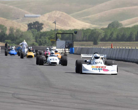 Group 6 and 7 Field at the 2015 CSRG Thunderhill Rolling Thunder at Thunderhill Raceway