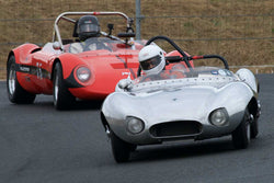 Robert Engberg with 1957 Elva Mk II in Group 2  at the 2016 SVRA Sonoma Historics - Sears Point Raceway