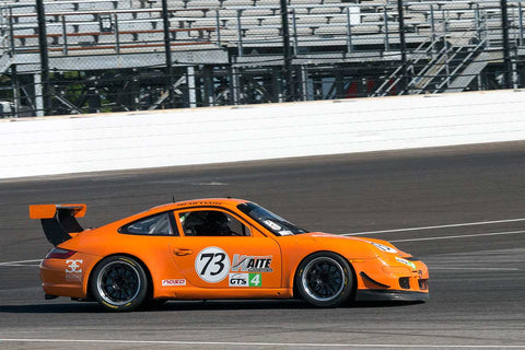 Brad Waite - 2006 Porsche Carrera S - Group 10 at the 2017 Brickyard Vintage Racing Invitational run at Indianapolis Motor Speedway