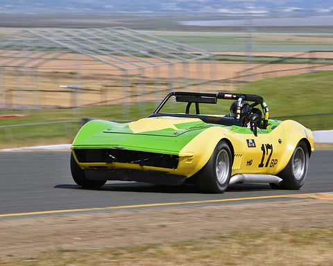 Randy Peterson with 1969 Chevrolet Corvette L88 in Group 6 - 1962-1972 Production and GT Cars Over 2000cc at the 2015 Sonoma Historic Motorsports Festival at Sonoma Raceway