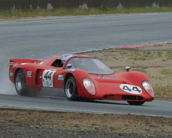 Gray R. Gregory with 1970 Chevron B16 in Group 4  at the 2016 HMSA Spring Club Event - Mazda Raceway Laguba Seca