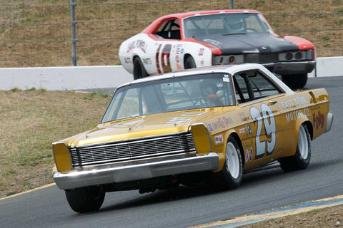 Steven Earle with 1965 Ford Galaxie in Group 5 -  at the 2016 SVRA Sonoma Historics - Sears Point Raceway