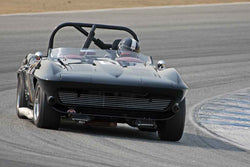 Jeffrey Abramson - 1964 Chevrolet Corvette Roadster in Group 6B  at the 2016 Rolex Monterey Motorsport Reunion - Mazda Raceway Laguna Seca