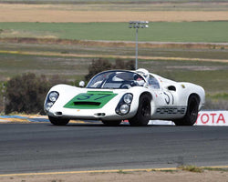 Reg Howell with 1967 Porsche 910 in Group 7 - 1959-1966 Sports Racing and 1964-1970 FIA Cars at the 2015 Sonoma Historic Motorsports Festival at Sonoma Raceway
