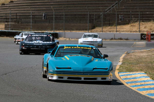 Ken Epsman with 1984 Pontiac Firebird in Group 13 at the 2016 SVRA Sonoma Historics - Sears Point Raceway