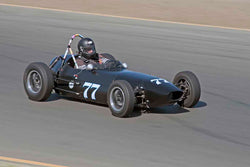 Mark Sange - 1959 BMC Huffaker FJ in Group 4&5 - Small Displacement Sports Racing Cars through 1967 & Formula Junior & Formula Vee open wheel cars at the 2017 CSRG Charity Challenge run at Sonoma Raceway