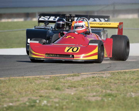Robert Baker with 1977 Ralt RTwith1 in Group 7  at the 2016 CSRG David Love Memorial - Sears Point Raceway