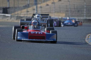 Eddie Lawson - 1978 March 78B in Group 7 -  at the 2016 Charity Challenge - Sonoma Raceway