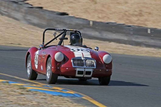 Shawn Deluna - 1956 MGA in Group 1 -  at the 2016 Charity Challenge - Sonoma Raceway