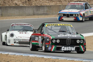 Steve Walker - 1976 BMW CSL in Group 4A  at the 2016 Rolex Monterey Motorsport Reunion - Mazda Raceway Laguna Seca