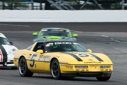 Bradley Briscoe - 1987 Chevrolet Corvette - Group 12A at the 2017 Brickyard Vintage Racing Invitational run at Indianapolis Motor Speedway