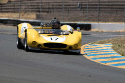 A.C. D'Augustine with 1965 Genie MK10B in Group 11 at the 2016 SVRA Sonoma Historics - Sears Point Raceway