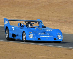 John Hill with 1972 Lola 292 in  Group 7 at the 2015 Season Finale at Thunderhill Raceway