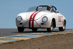 George Batcabe with 1956 Porsche Speedster in Group 2  at the 2016 SVRA Sonoma Historics - Sears Point Raceway