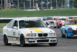 Kevin Ruble - 1998 BMW M3 Sedan - Group 12A at the 2017 Brickyard Vintage Racing Invitational run at Indianapolis Motor Speedway
