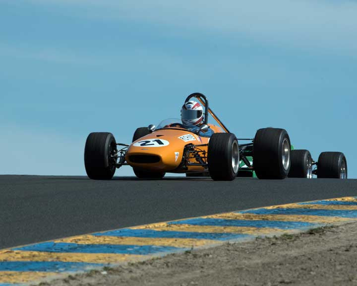 Paul Richins with 1967 Brabham BT 21C in Group 6 at the 2016 CSRG David Love Memorial - Sears Point Raceway