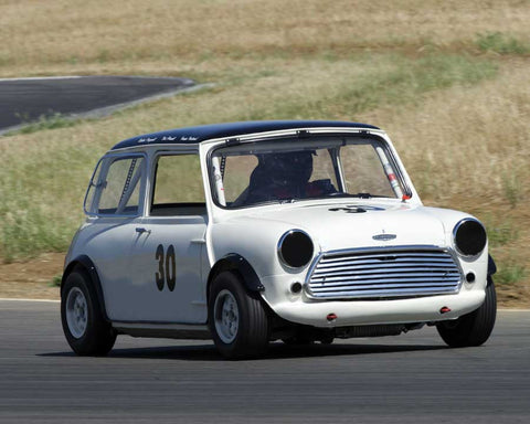 Mini Cooper in Group 3/8 at the 2015 CSRG Thunderhill Rolling Thunder at Thunderhill Raceway