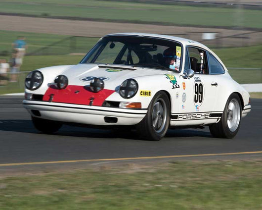 Alan Terpins with 1967 Porsche 911 TR in Group 8 - at the 2016 CSRG David Love Memorial - Sears Point Raceway