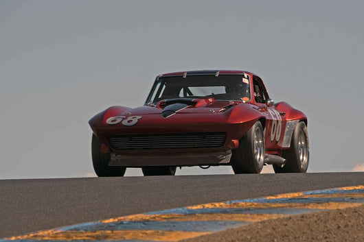 Curt Kallberg - 1967 Chevrolet Corvette in Group 8 -  at the 2016 Charity Challenge - Sonoma Raceway