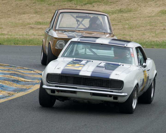Michael Vogel with 1968 Chevrolet Camaro in Group 8 - at the 2016 CSRG David Love Memorial - Sears Point Raceway