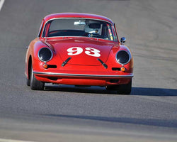 Chris Torp with 1963 Porsche 356B in  Group 2 at the 2015 Season Finale at Thunderhill Raceway