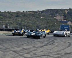 Group 3B - 1955-1961 Sports Racing Cars under 2000cc at the 2015 Rolex Monterey Motorsport Reunion, Mazda Raceway Laguna Seca