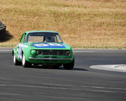Jon Norman driving his 1971 Alfa Romeo GTV in Group 3/8 at the 2015 CSRG Thunderhill Rolling Thunder at Thunderhill Raceway