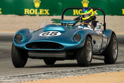 Rick Knoop - 1959 Echidna Special in Group 3A - 1955-1961 Sports Racing Cars over 2000cc at the 2017 Rolex Monterey Motorsport Reunion run at Mazda Raceway Laguna Seca