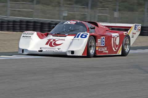 Skylar Robinson - 1986 Porsche 962 in Group 5B  at the 2016 Rolex Monterey Motorsport Reunion - Mazda Raceway Laguna Seca