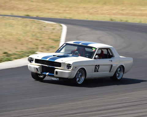 Jim Gallucci driving his 1966 Ford Mustang in Group 3/8 at the 2015 CSRG Thunderhill Rolling Thunder at Thunderhill Raceway
