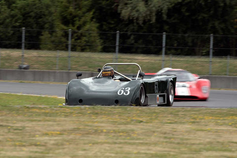 Rupert BraggwithSmith with 1976 Lola T492 in Group 5 & 11 -  at the 2016 Portland Vintage Racing Festival - Portland International Raceway