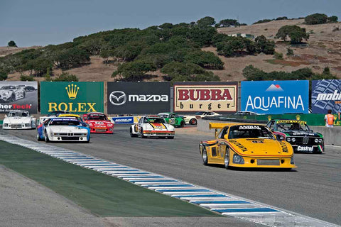 Group 4A - 1973-1981 FIA, IMSA GT,GTX,AAGT Cars at the 2017 Rolex Monterey Motorsport Reunion run at Mazda Raceway Laguna Seca