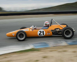 Paul Richins - 1967 Brabham BT21C in Group 7  at the 2016 HMSA Spring Club Event - Mazda Raceway Laguna Seca