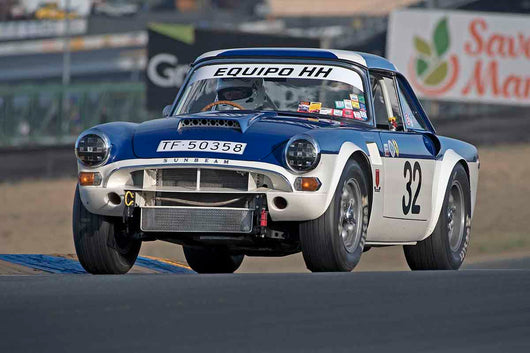 Gordon England - 1965 Sunbeam Tiger in Group 3 - Large Displacement Production Sports Cars through 1967 at the 2017 CSRG Charity Challenge run at Sonoma Raceway