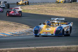 Mike Thurlow - 1973 Lola T294 in Group 7 - F1, F5000, Formula Atlantic & FIA Gp 6&7 at the 2017 CSRG Charity Challenge run at Sonoma Raceway