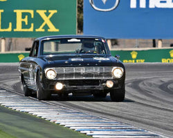 Michael Eisenberg with 1963 Ford Falcon Sprint in Group 6B - 1966-1972 Historic TransAM Cars at the 2015-Rolex Monterey Motorsport Reunion, Mazda Raceway Laguna Seca