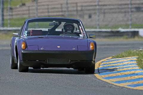 Jon Wactor - 1970 Porsche 914/6 in Group 8 at the 2017 CSRG David Love Memorial - Sears Point Raceway