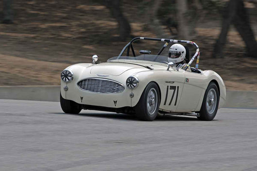 Kevin Adair - 1959 Austin Healey 3000 S in Group 1B  at the 2016 Rolex Monterey Motorsport Reunion - Mazda Raceway Laguna Seca