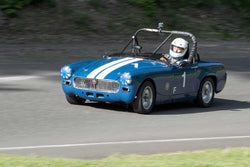 Stephen Newby with 1965 MG Midget in Group 1 - at the 2016 SOVREN Spring Sprints, Pacific Raceway