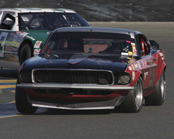 Steve Eftimiou driving his 1966 Ford Mustang in Group 8 at the 2015 CSRG David Love Memorial Vintage Car Road Races at Sonoma Raceway