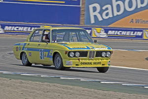 Arthur Porter -  1973 BMW 3.0S in Group 3B  at the 2016 Rolex Monterey Motorsport Reunion - Mazda Raceway Laguna Seca
