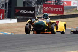 Paul Ryan with 1962 Lotus Super 7 in Group 3 -  at the 2016 SVRA Sonoma Historics - Sears Point Raceway