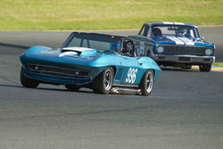 Edward Hugo - 1966 Chevrolet Corvette in Group 3 at the 2017 CSRG David Love Memorial - Sears Point Raceway