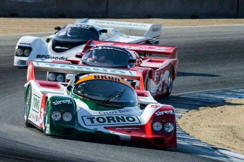 Ernie Spada Jr. - 1984 Porsche 962 in Group 8A - 1981-1991 IMSA GTP Cars at the 2017 Rolex Monterey Motorsport Reunion run at Mazda Raceway Laguna Seca