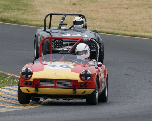 Thomas Turner with 1962 Triumph Spitfire 4 in Group 10 at the 2016 CSRG David Love Memorial - Sears Point Raceway