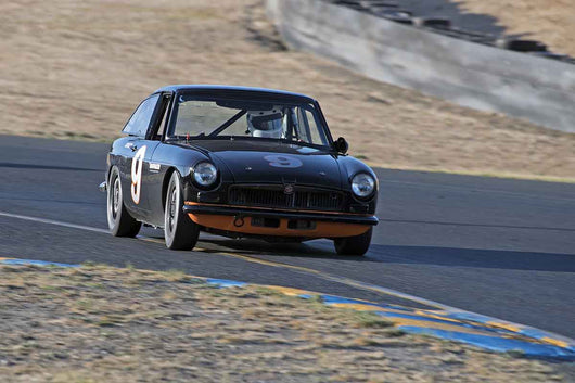 G Michael Hayworth -  MG BGT in Group 2 -  at the 2016 Charity Challenge - Sonoma Raceway