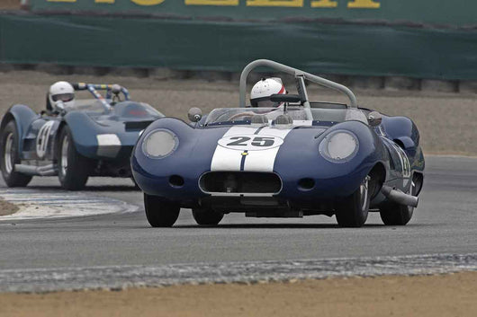 Erickson Shirley - 1959 Lister Costin in Group 2A  at the 2016 Rolex Monterey Motorsport Reunion - Mazda Raceway Laguna Seca